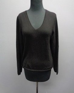 Charter Club Cashmere Casual Fit Long Sleeve V Neck Sm12466 Sweater