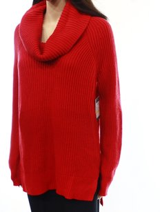 Chaus Cotton Blends Cowl Neck Sweater