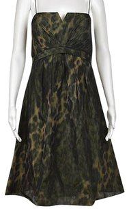 Chetta B. by Sherrie Bloom and Peter Noviello B Womens Animal Print Sleeveless Above Knee Dress