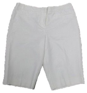 Chico's Walking Bermuda Bermuda Shorts White
