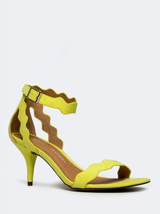 Chinese Laundry Ankle-strap Yellow Sandals
