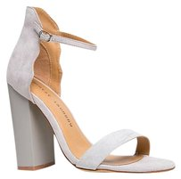 Chinese Laundry High-heel Gray Sandals