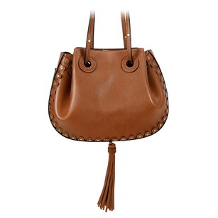 Chloé Chloe Inez Leather Shoulder Tote