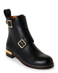 Chlo Black and Gold Boots