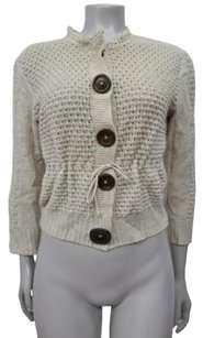 Chlo Chloe Merino Wool Open Sweater