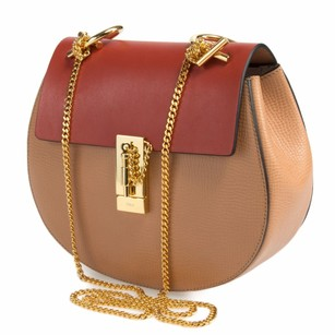 Chloé Chloe Drew Gold Shoulder Bag