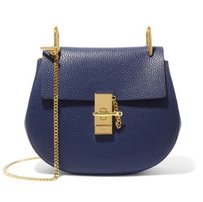 Chloe drew textured leather shoulder bag Shoulder Bag