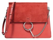 Chloé Faye Suede Chloe Faye Medium Chloe Faye Suede Faye Suede Leather Shoulder Bag