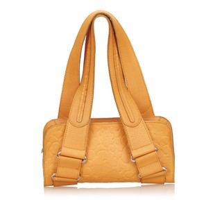 Chloé Leather Orange Others Shoulder Bag