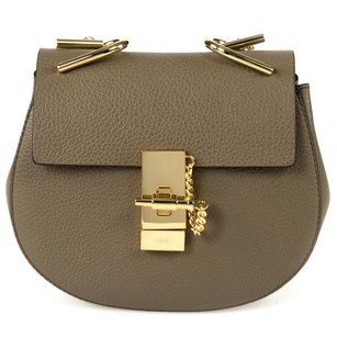 Chlo Pebbled Classic Leather Calfskin Cross Body Bag