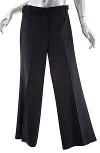 Chloe Straight Legs Relaxed Pants Black