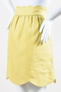 Chloé Vintage Chloe True Skirt Yellow