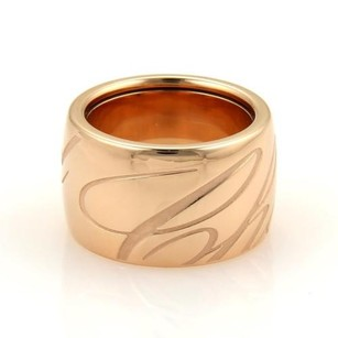Chopard Chopard Chopardissimo 18k Rose Gold 14mm Wide Dome Band Ring