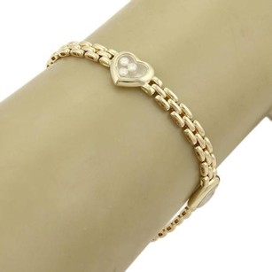 Chopard Chopard Happy Diamond Hearts 18k Yellow Gold Panther Link Bracelet