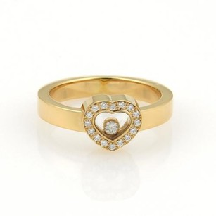 Chopard Chopard Happy Diamonds 18k Yellow Gold Heart Ring