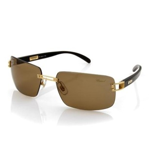 Chopard Chopard Sunglasses 18k Yellow Gold Frame Roviex Lens - Rt