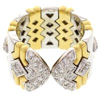 Chopard Ladies Chopard 18k Two Tone Gold And Diamond Ring
