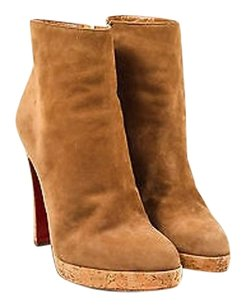 Christian Louboutin Light Brown Boots