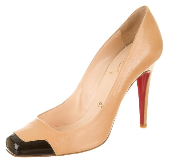 Christian Louboutin Patent Square-Toe Pumps buy cheap footaction 2014 unisex cheap online online sale online l6OKjqni