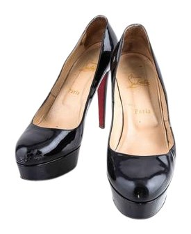 Christian Louboutin Bianca Patent Leather Black Pumps Size US 10 Regular (M, B)