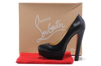 Christian Louboutin Bianca Stiletto Black patent leather Pumps