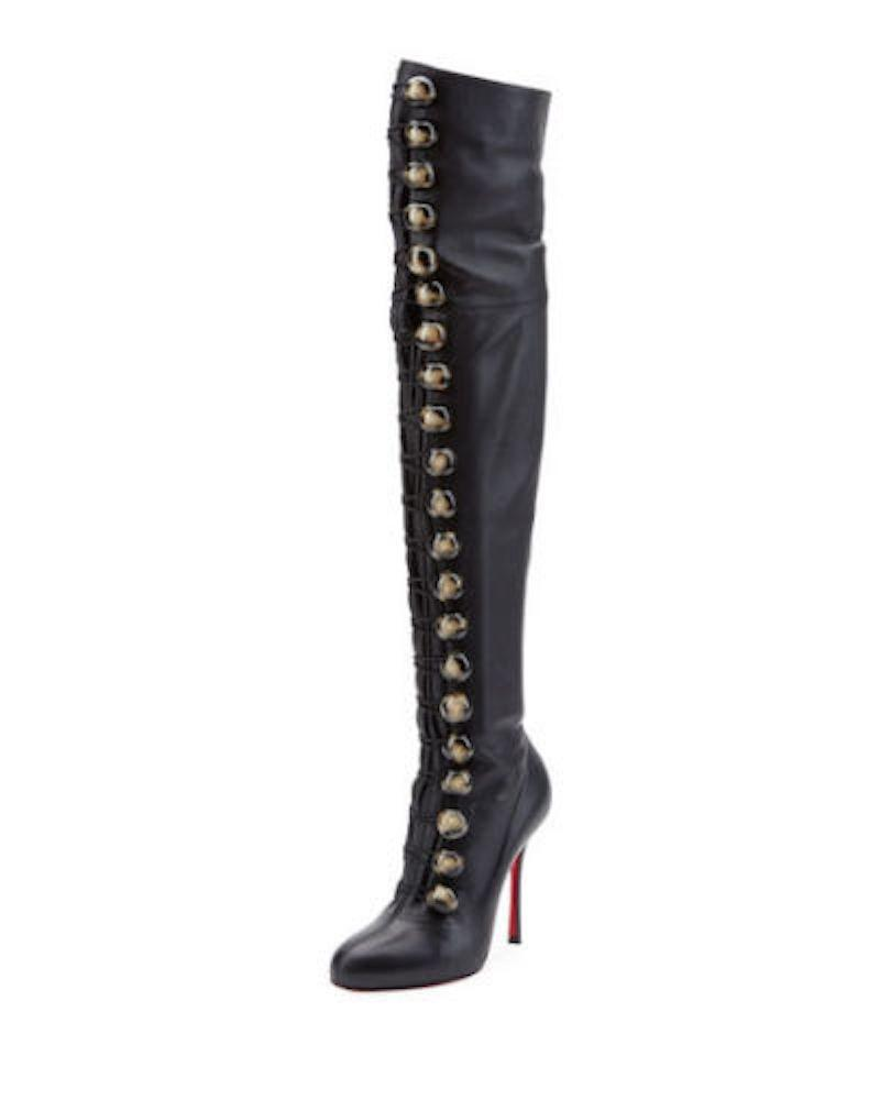 sale low price Christian Louboutin Fabiola Thigh-High Boots cheap amazon newest sale online outlet wholesale price cheap sale shopping online 0WaAC