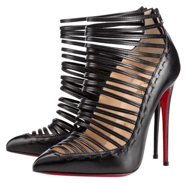 Christian Louboutin Black Gortik Boots/Booties Size US 7.5 Regular (M, B)