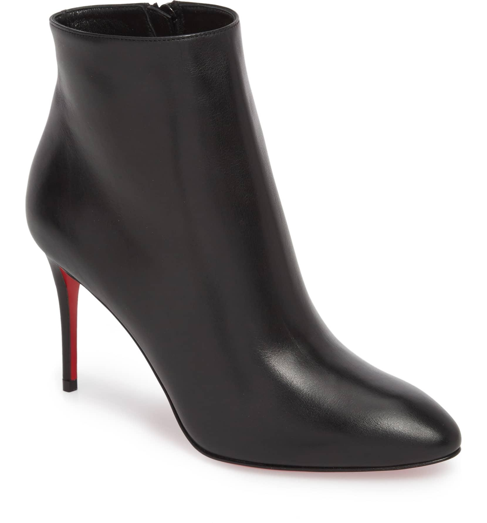 0d0f139cab6 get christian louboutin telezip leather ankle boots boots 505325166 b3d47  c721d  hot christian louboutin boots booties up to 70 off at tradesy e4fc5  00335