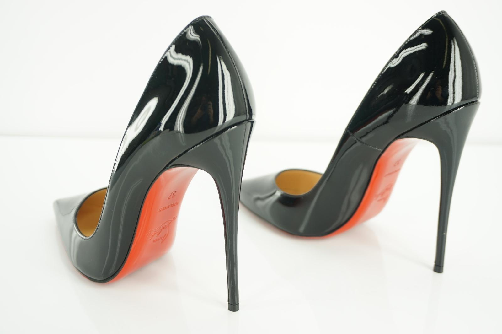 0ab81bfec6c Christian Louboutin Black Patent So Kate Classic Pointy Pointy ...