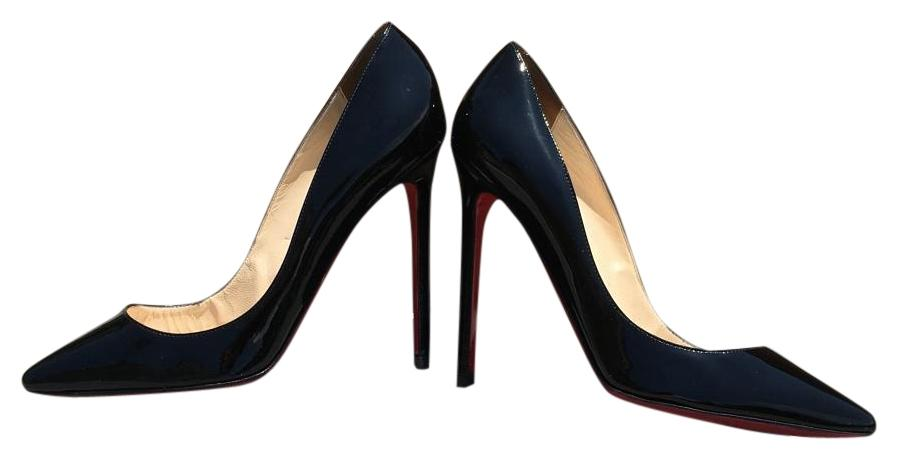 Christian Louboutin Black Pigalle 120 Patent Leather Eu 35 - 5.5 Pumps Size US 5 Regular (M, B)