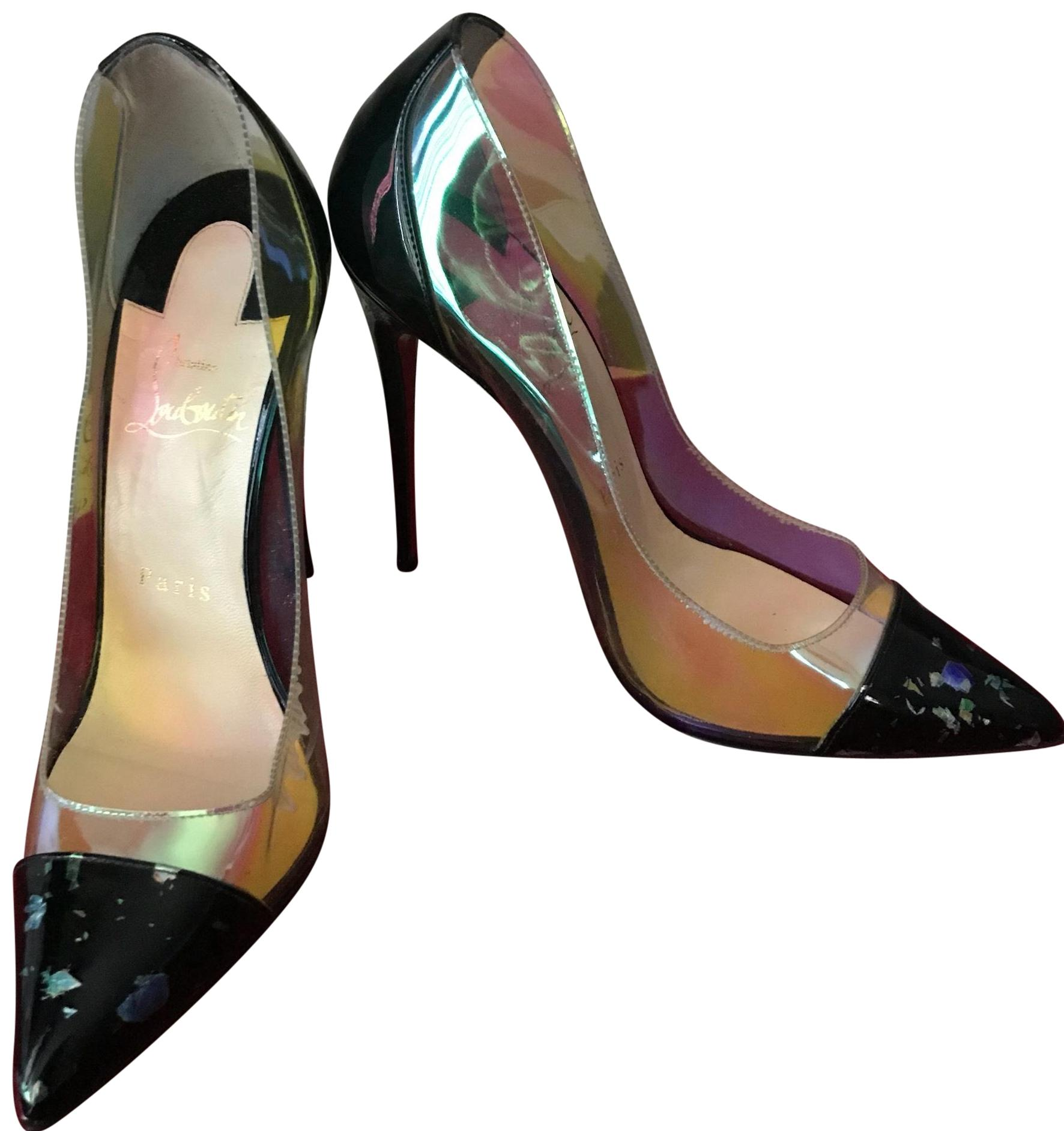 fadf0fc9070 coupon code for christian louboutin black pvc clear pumps f46ce b1a8c