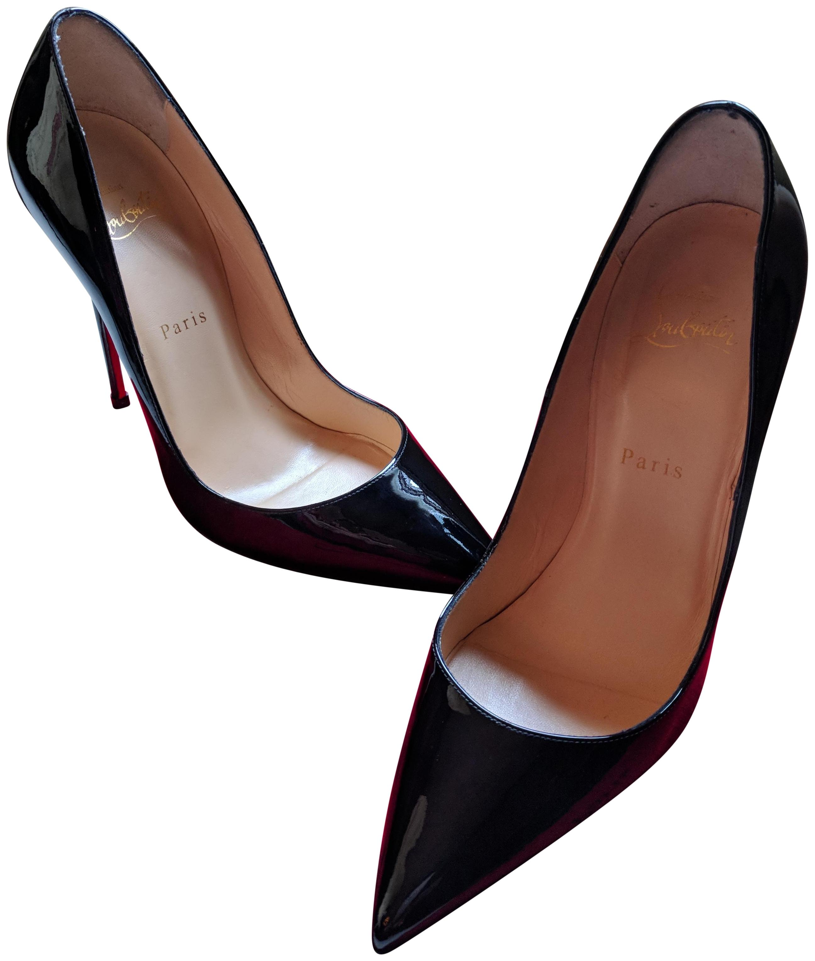 96c6b0c80b47 Christian Louboutin Black So Kate 120mm 120mm 120mm Patent Leather Pumps  Size EU 38.5 (Approx ...