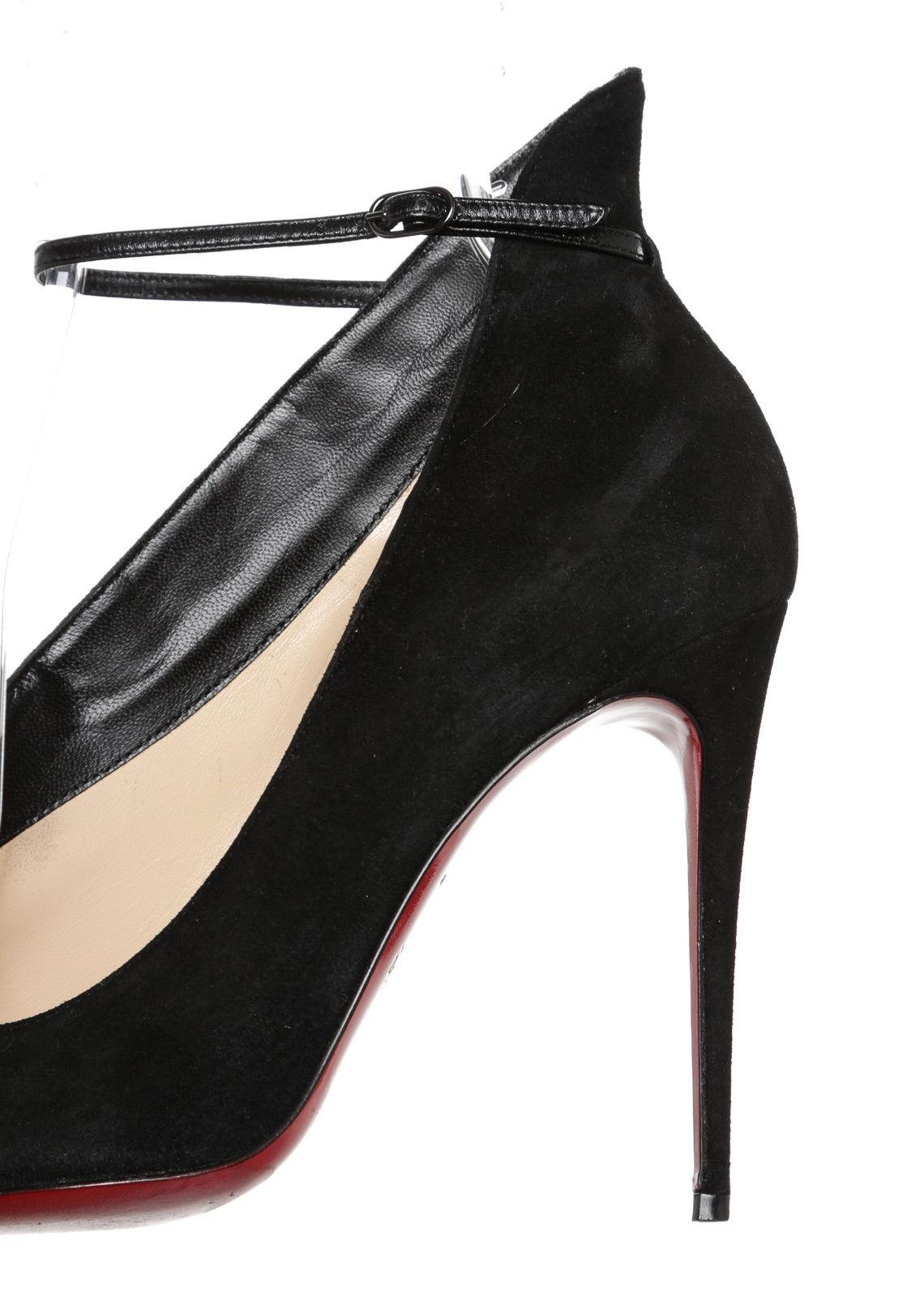 bbd5e8606f5d shopping christian louboutin vampydoly suede pumps for sale f6aab 6d84e