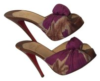 Christian Louboutin Cht27505 Madeleine Louboutin Stiletto Purple Sandals