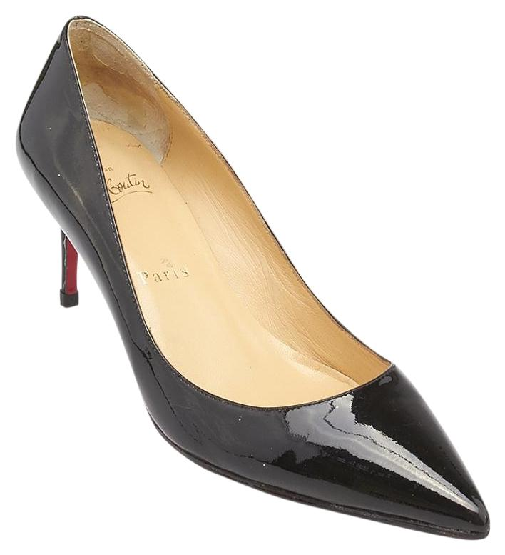 christian louboutin pigalle 100 patent leather heels size