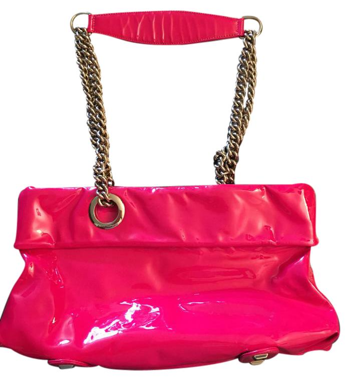 Christian Louboutin Chainlink Charm On Chain 10 Inch Strap Shoulder Bag