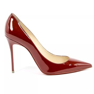 Christian Louboutin Dark Red Pumps