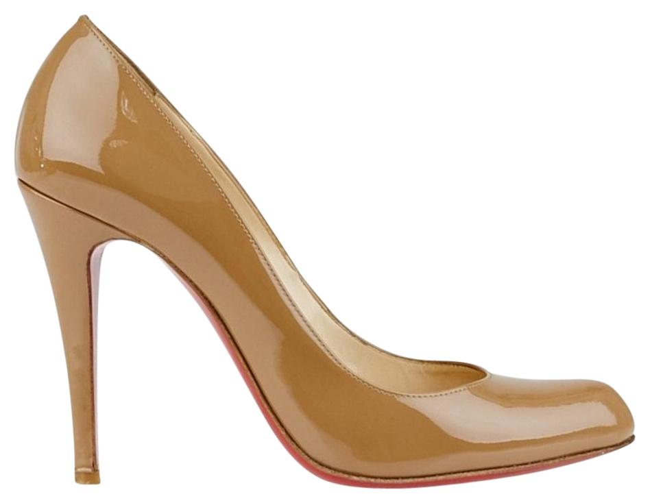 christian louboutin beige pumps price