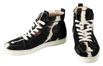 Christian Louboutin High Tops Black/Brown Athletic
