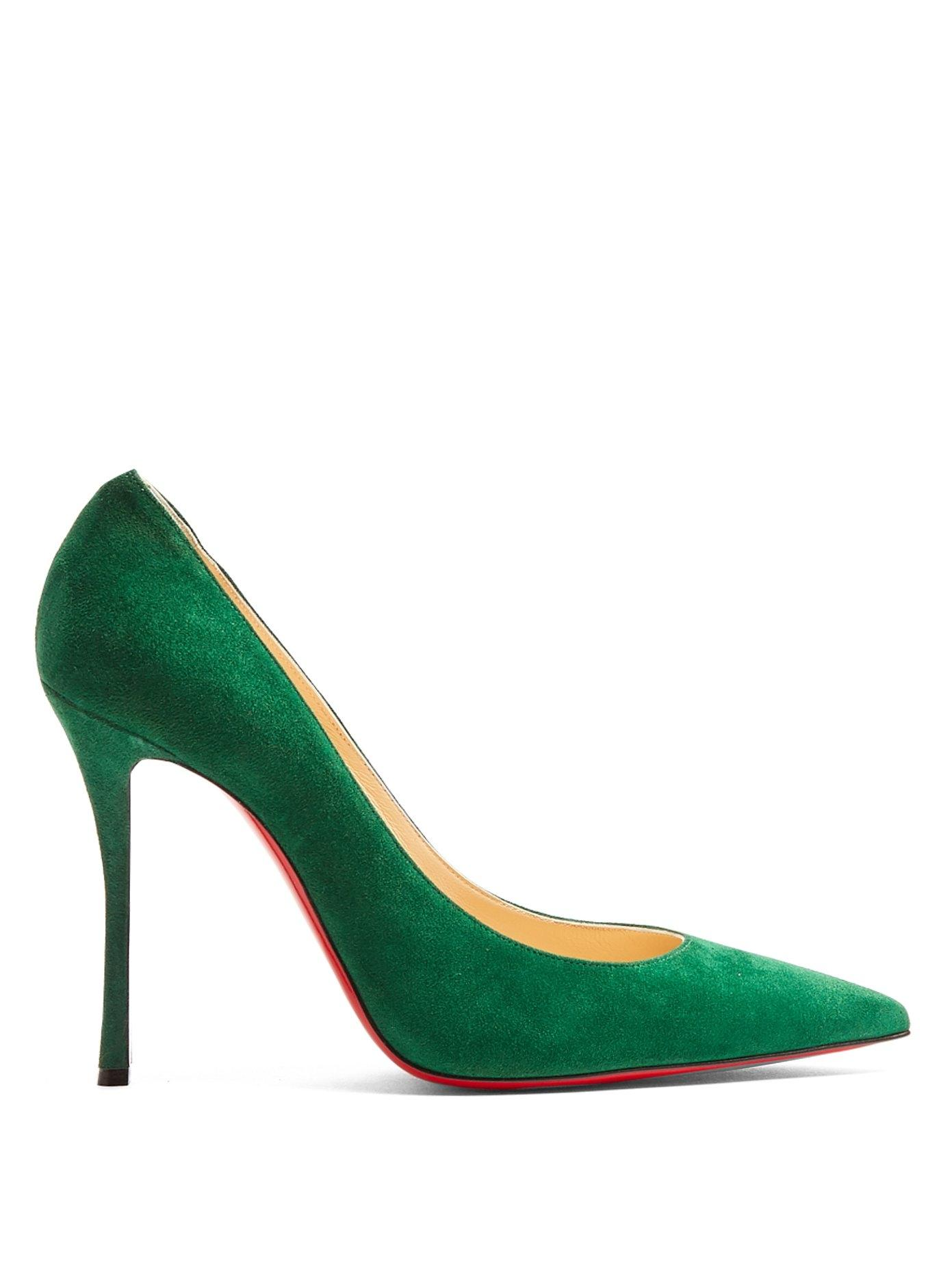 942f2319aba9 ... good womens green christian louboutin shoes up to 90 off at tradesy  9c6a0 ed250