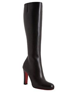 Christian Louboutin Miss Tack Black Boots