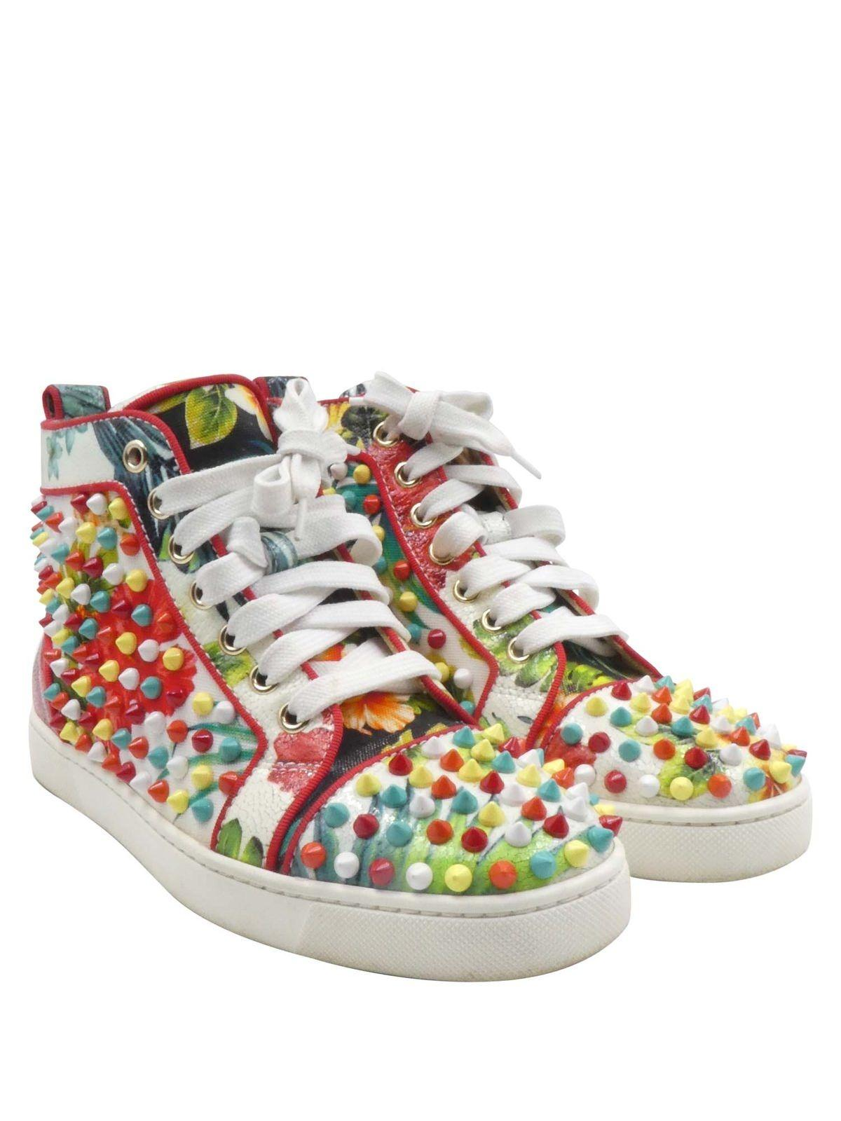 multicoloured Orlato spike suede sneakers Christian Louboutin New Arrival Quality Outlet Store High Quality RCRJJgqis