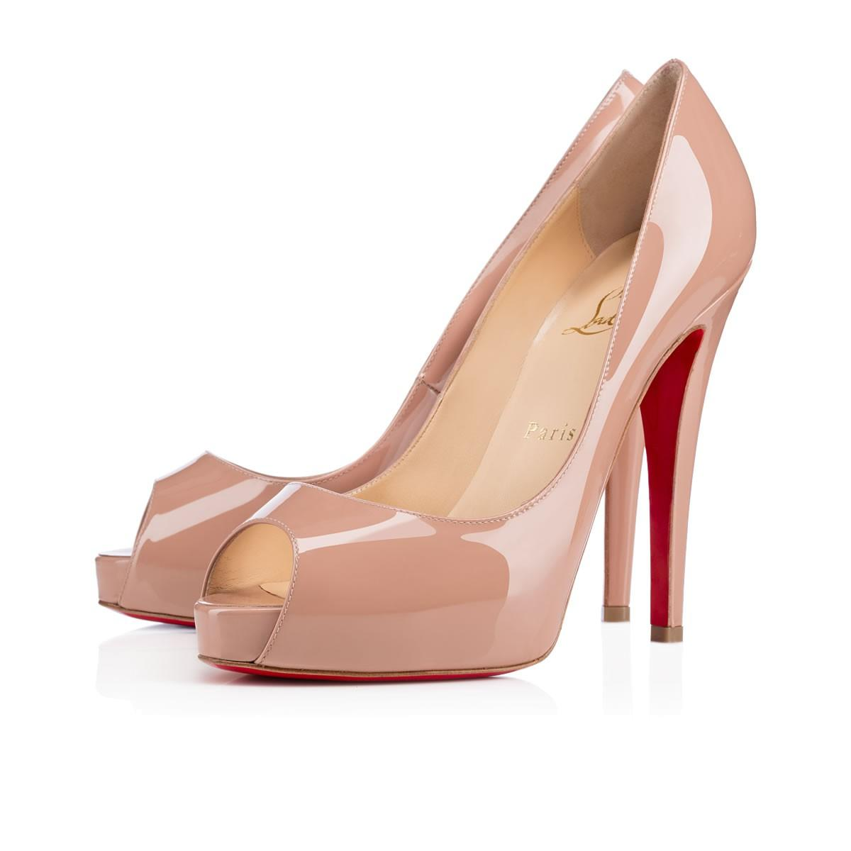 Christian Louboutin New Very Prive New Very Prive Louboutin Size 38 Nude  Pumps