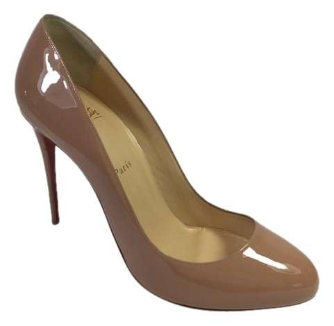 Christian Louboutin Nude Dorissima 110 Pumps Size US 12 Regular (M, B)