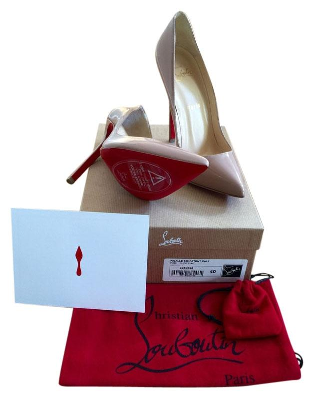 Christian Louboutin Nude Pigalle 120mm In Pumps Size US 10 Regular (M, B)
