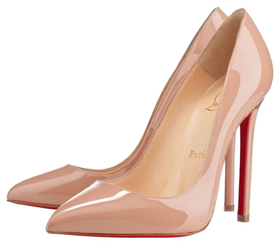 Christian Louboutin Nude Pigalle 120mm Pumps Size US 7 Regular (M, B)