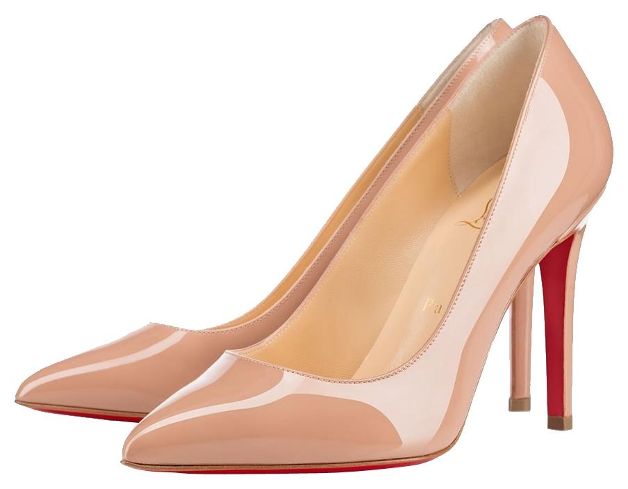 Christian Louboutin Nude Pigalle Pumps Size US 8 Narrow (Aa, N)