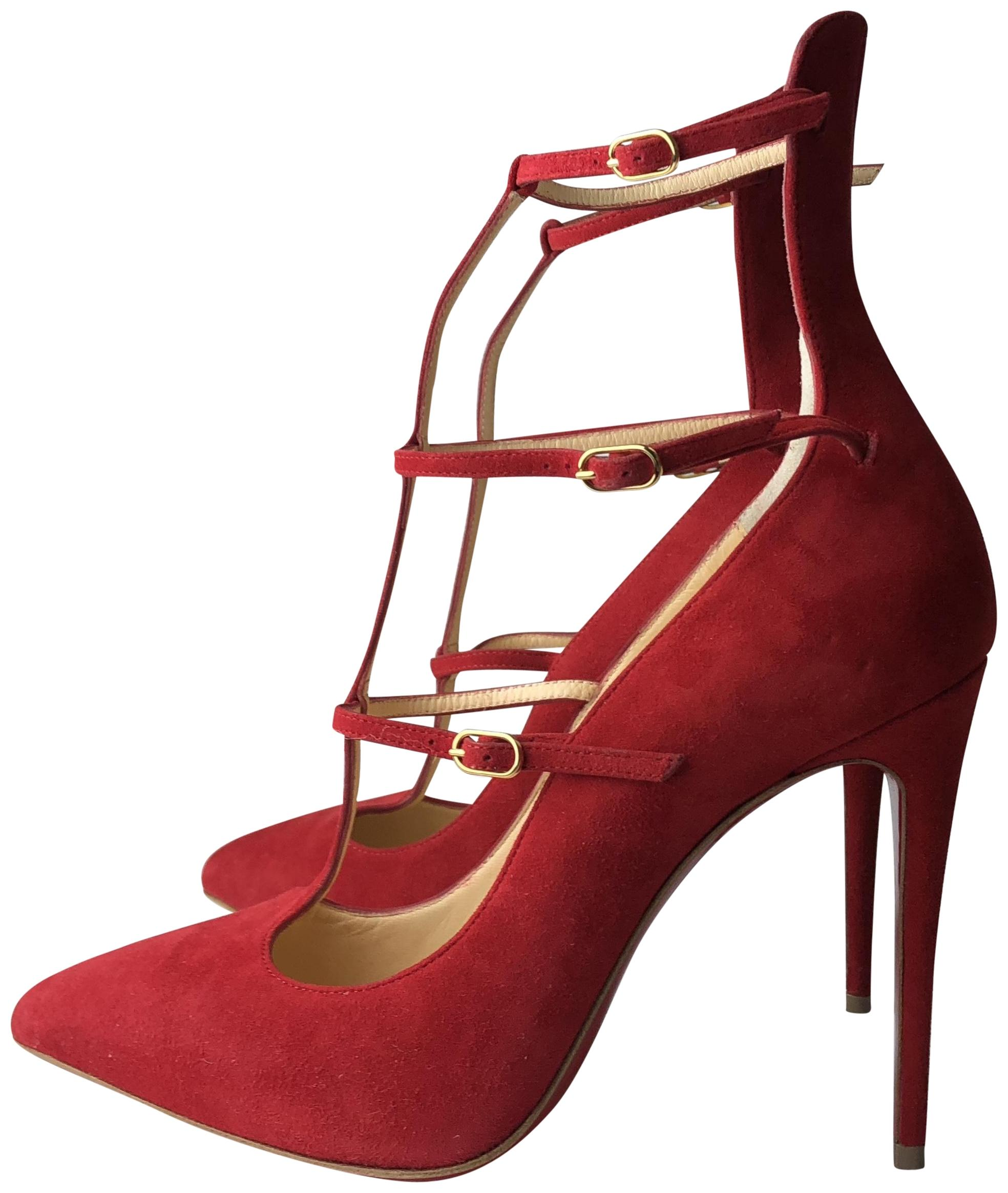 9052d17dfaf clearance christian louboutin red pumps c9a05 5d84f