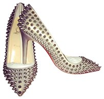 Christian Louboutin Studded Leather Redsole Pumps
