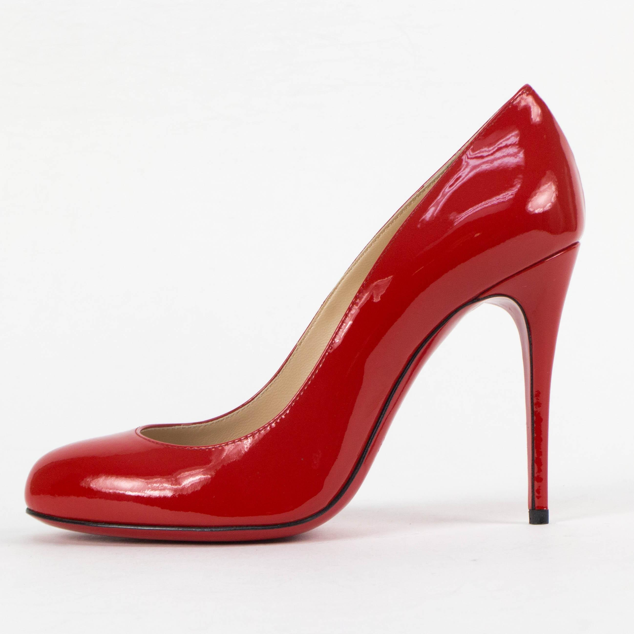 cd928034696b ... B Christian Louboutin Red Red Red Fifi Collection Pumps Size US 6.5  Regular (M